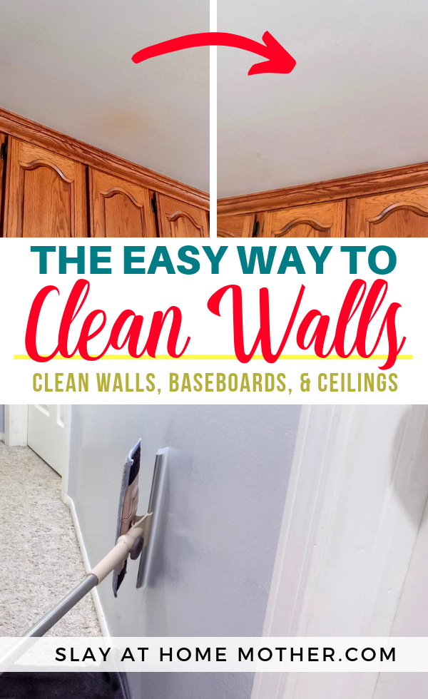 How To Clean Walls Without Removing Or Discoloring Paint Cleaning Walls Baseboards Cleaning Painted Walls