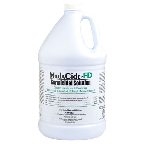 MadaCide-FD Disinfectant Cleaner Germicide - 1 Gallon