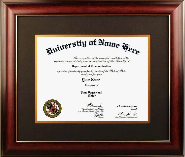 Diploma Framing | Graduation Certificate Design | Pinterest ...
