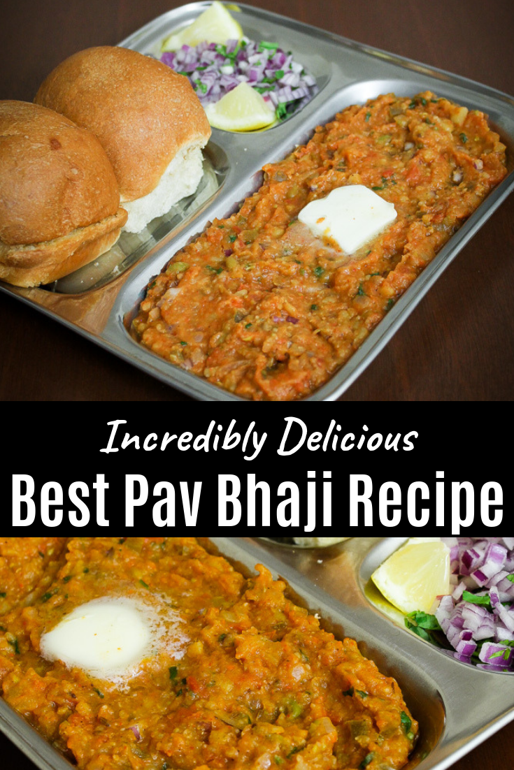 Pav bhaji recipe (How to make pav bhaji) Mumbai pav bhaji recipe