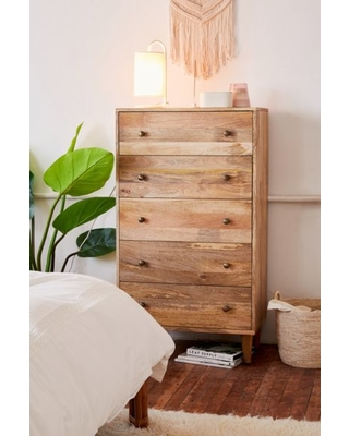 Urban Outfitters Amelia Tall Dresser Brown At Urban