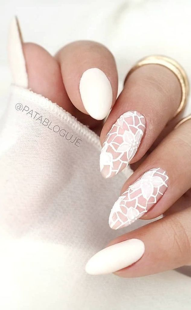 30 Cute Summer Nail Design Ideas For Stylish Brides In 2020 Minimalist Nails Nail Designs Trendy Nail Art Designs