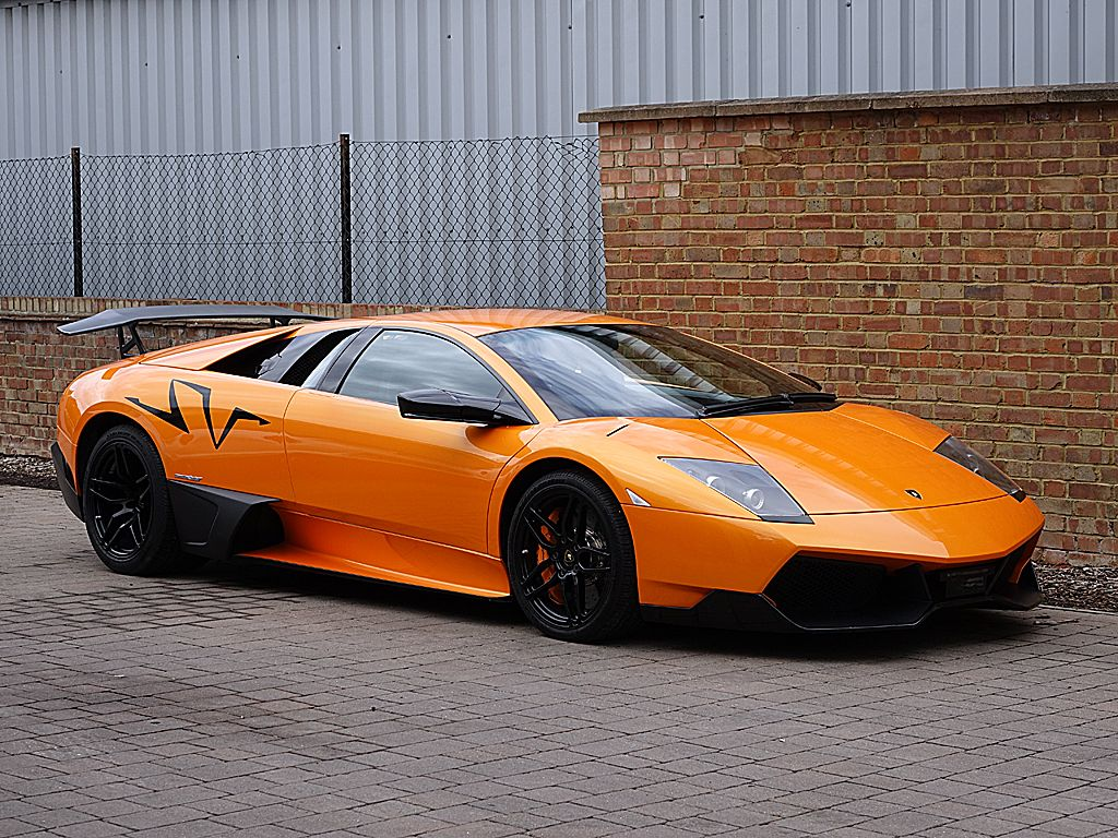 Our New Arrival The Lp670 4 Murcielago Sv The Badge Is Deceiving As