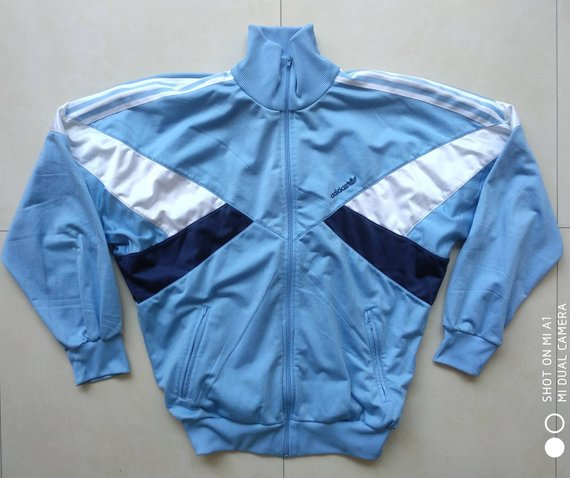 8cbd7e48a69 Vtg ADIDAS Trefoil Track Jacket / Windbreaker 90s Old School Retro Outdoor Rap  Hip hop / Nike Adidas