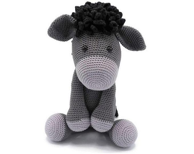 Crochet Pattern Zoe Zebra Donkey Alex Handmade Crochet
