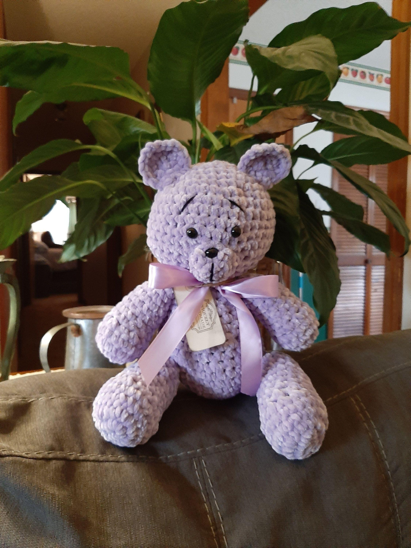 Crochet Teddy Bear, Soft Teddy, stuffed animal, armigurumi teddy bear, toy teddy bear, infant teddy bear #crochetteddybears