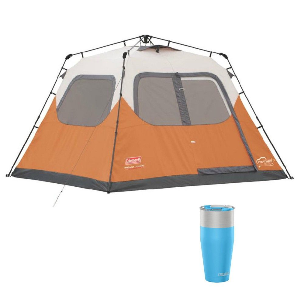 Coleman Outdoor 6 Person Instant Family Camping Tent