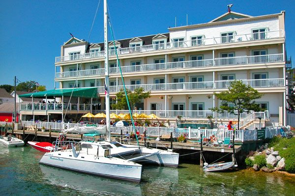 Lodging Hotels Historic Inns Mackinac Island Grand Hotel
