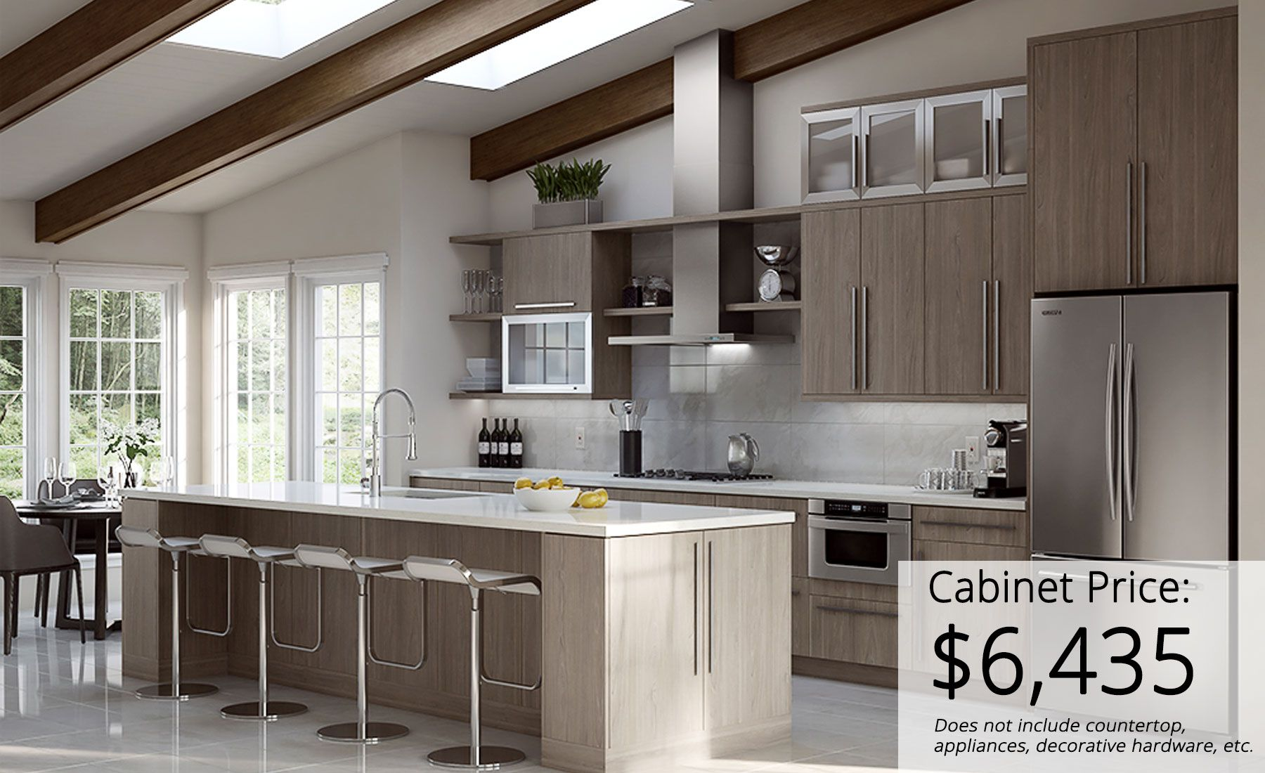Hampton Bay Designer Series Designer Kitchen Cabinets Available At Home Depot Driftwood Kitchen Kitchen Cabinets Home Depot Kitchen Design
