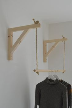 Hanging ,Pair of Shelf Brackets, Shelf Brackets an