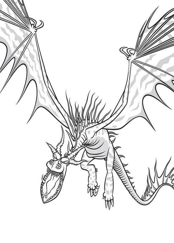 33 disegni di dragon trainer 1 e 2 da colorare  dragon