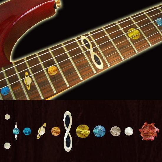 Planet Fret Markers Inlay Stickers Decals Guitar Bass | W A N T ...