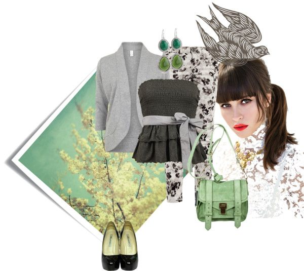 """""""Longing For Spring And Green Trees"""" by julie-jane on Polyvore"""