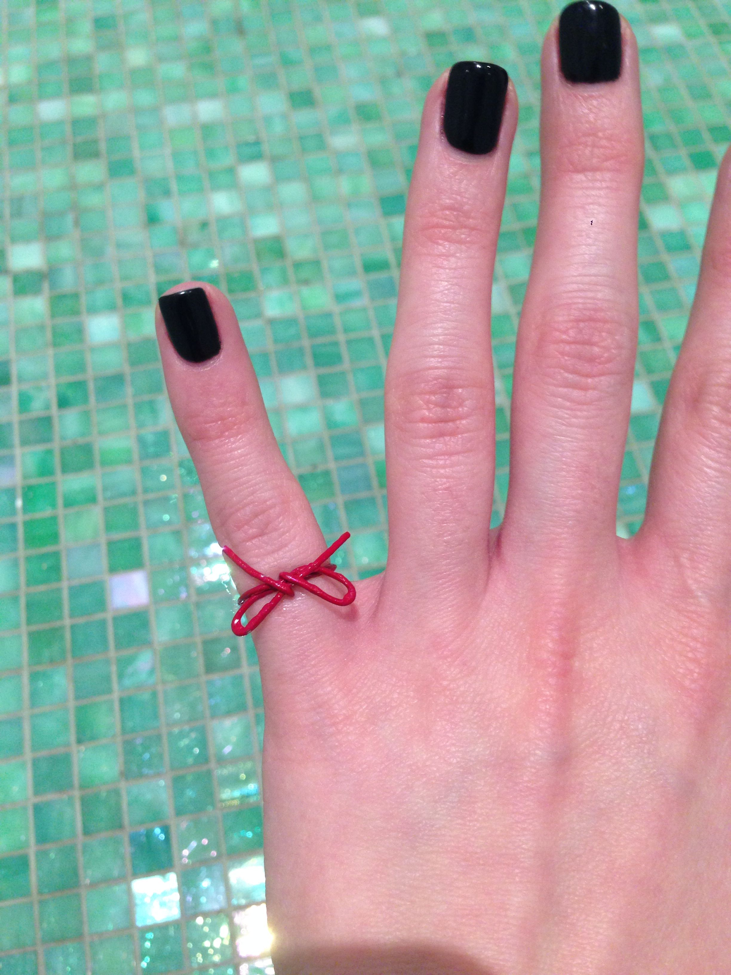 Red String Of Fate Ring: Red String Wedding Rings At Reisefeber.org