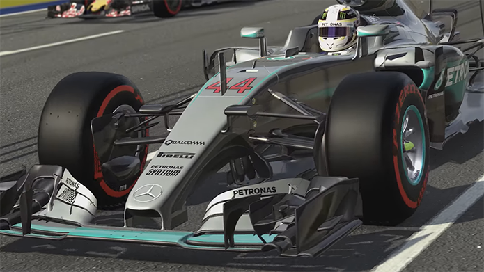 Novo trailer de F1 2016 mostra muita ação na pista (Foto: Divulgação/Codemasters)
