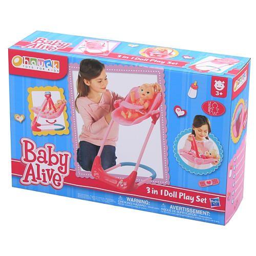 Baby Alive Swing High Chair Combo Hauck Ltd Toys R Us Baby Alive Baby Doll Accessories Baby Alive Dolls