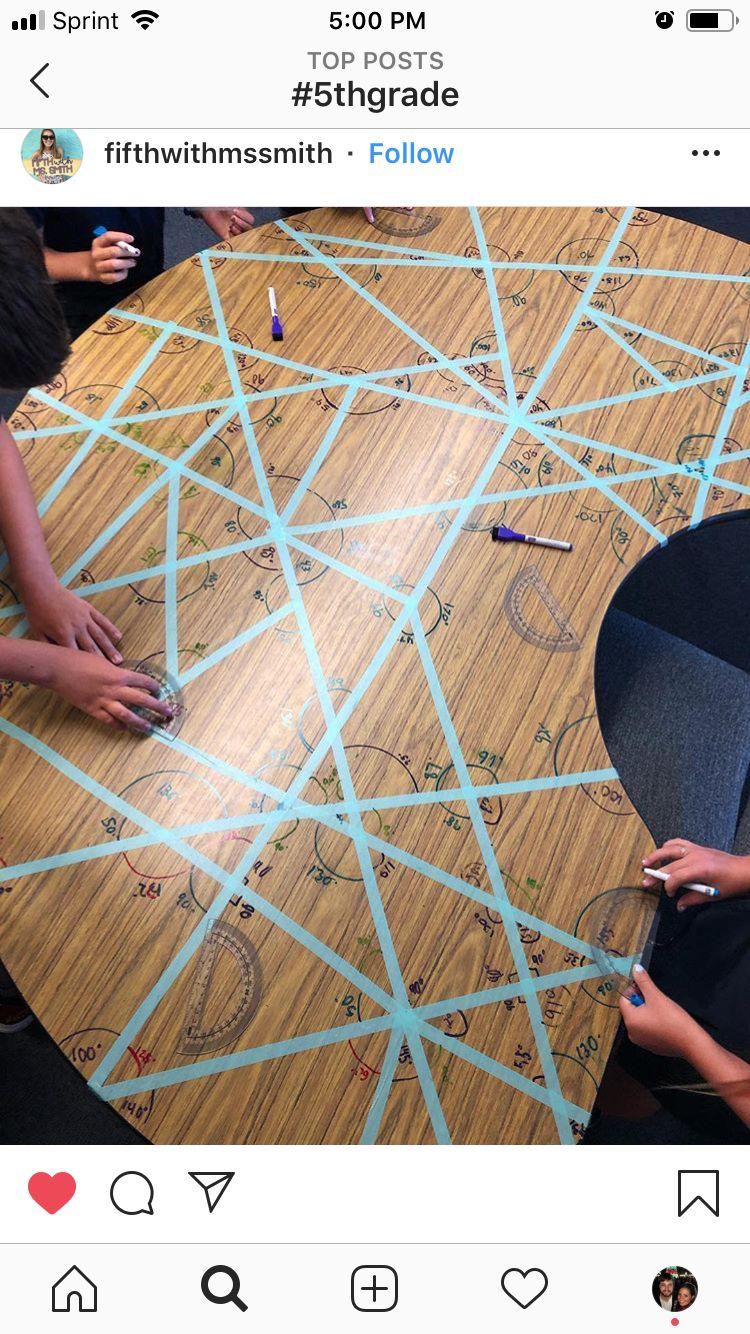 Measuring Angles Homeschool Math Math Classroom Education Math [ 1334 x 750 Pixel ]