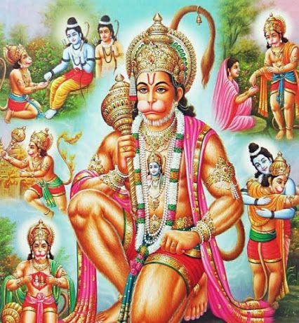 Bajrangbali Ki Jai Pawan Putra Hanuman Ki Jai Hanuman