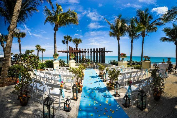 Vero Beach Hotel And Spa Wedding Ceremony Reception Venue Florida