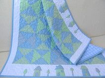 Baby Quilt / Patchworkdecke