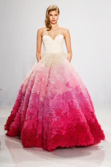 baf8dcda0214 You ve never seen a wedding dress line like this before.