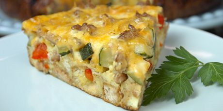 most egg cellent breakfast strata could use gluten free croutons in this - Strata Egg Dish