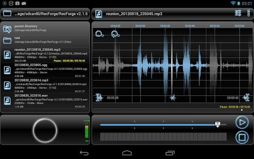 Top Five Android Voice Recorder App (With images) Music