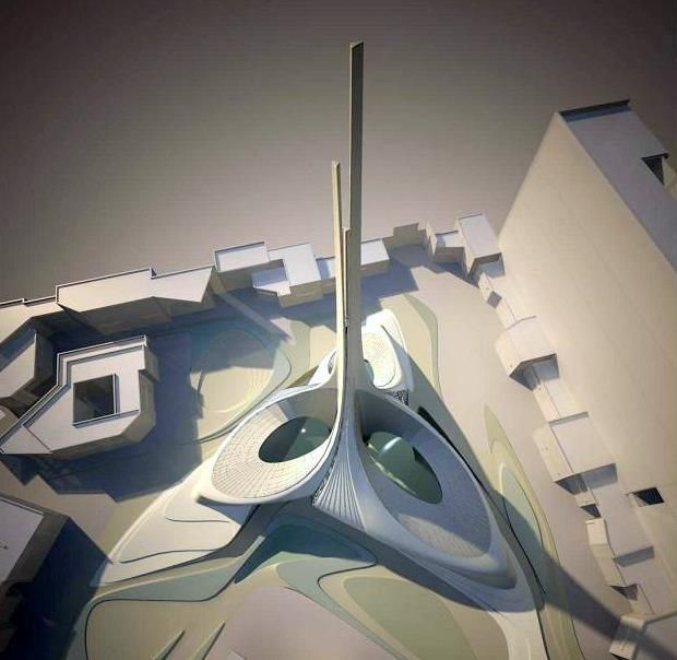 Avenues Mall Mosque | Zaha Hadid | Cami,Kilise,İbadethane | Pinterest