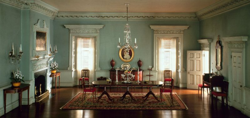 Rooms: A19: Maryland Dining Room, 1770-74