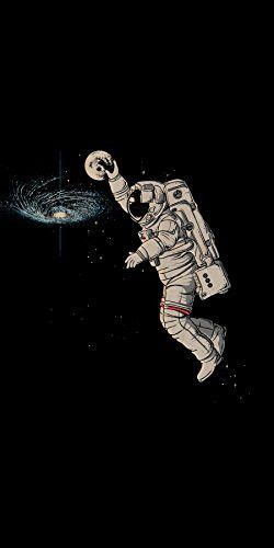 Slam Dunk Astronaut Dunk Moon In Galaxy Funny Plywood Wood Print Poster Wall Art Poster Wall Art Space Art Poster Prints