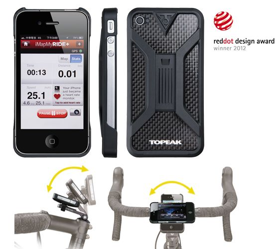 RideCase for iPhone4/4s by Topeak