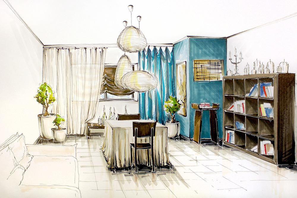 Anna Kharytonova Online Diploma Interior Design Student