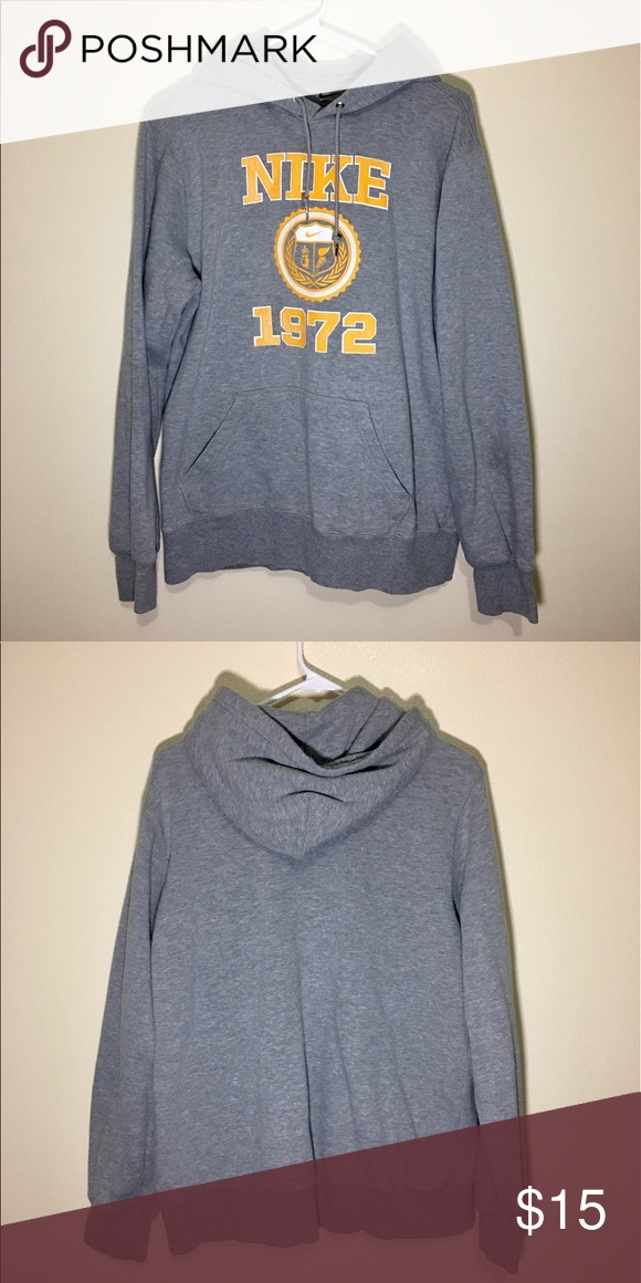 Nike 1972 Logo Design Hoodie In amazing condition