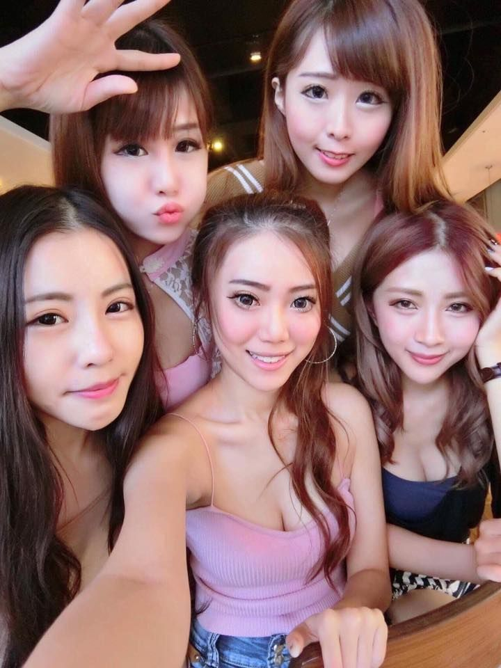 Sexy girls of hot group