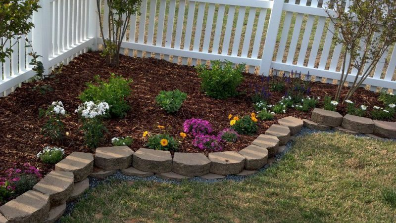 Landscaping ideas for backyard corner google search for Corner house garden designs