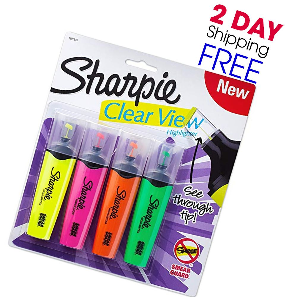 sharpie clearview highlighter coupon