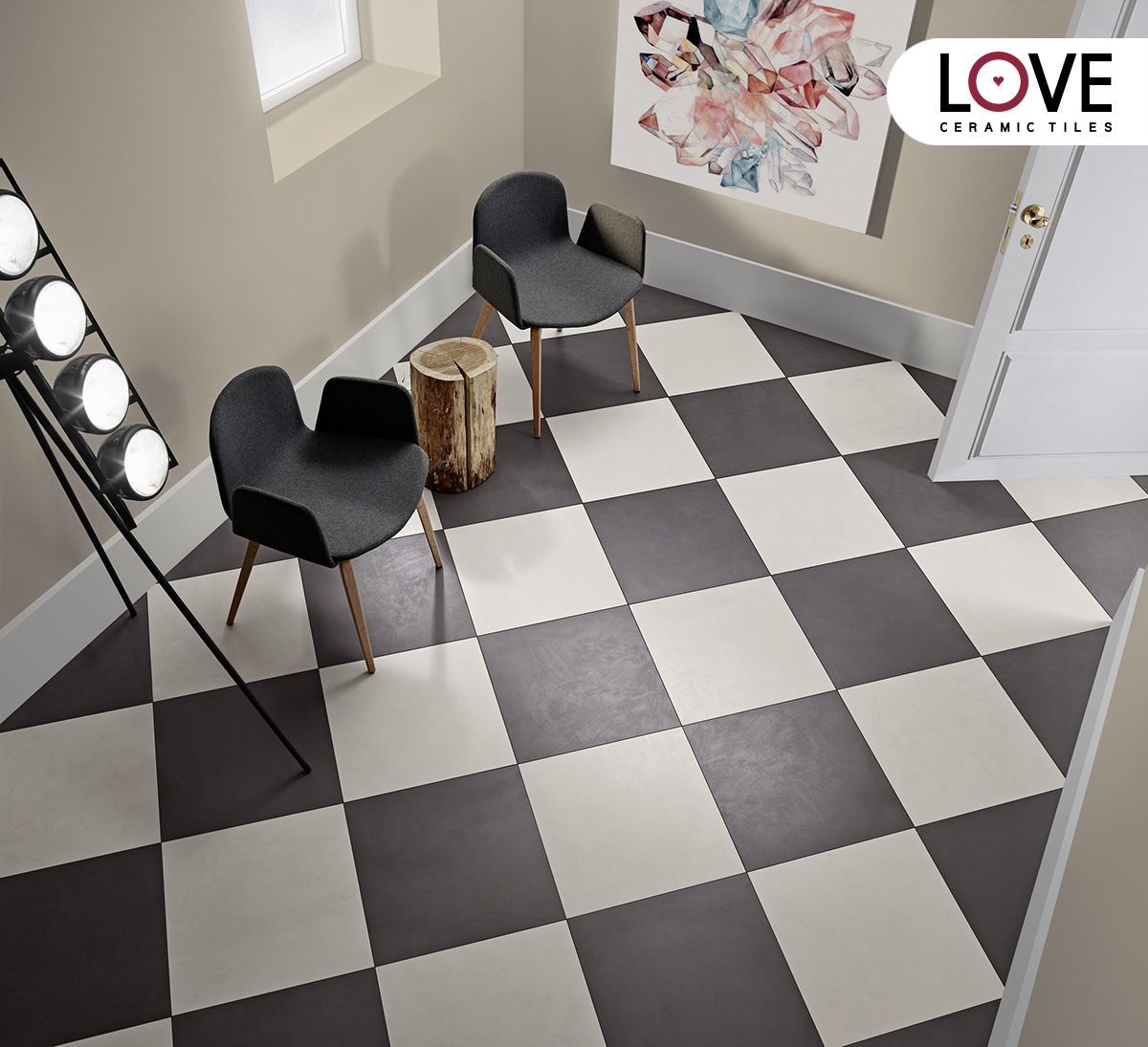 Chess floor by love tiles collection blend ceramictiles love chess floor by love tiles collection blend ceramictiles dailygadgetfo Images