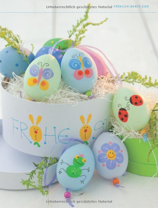 12++ Eier mit kindern gestalten ideen