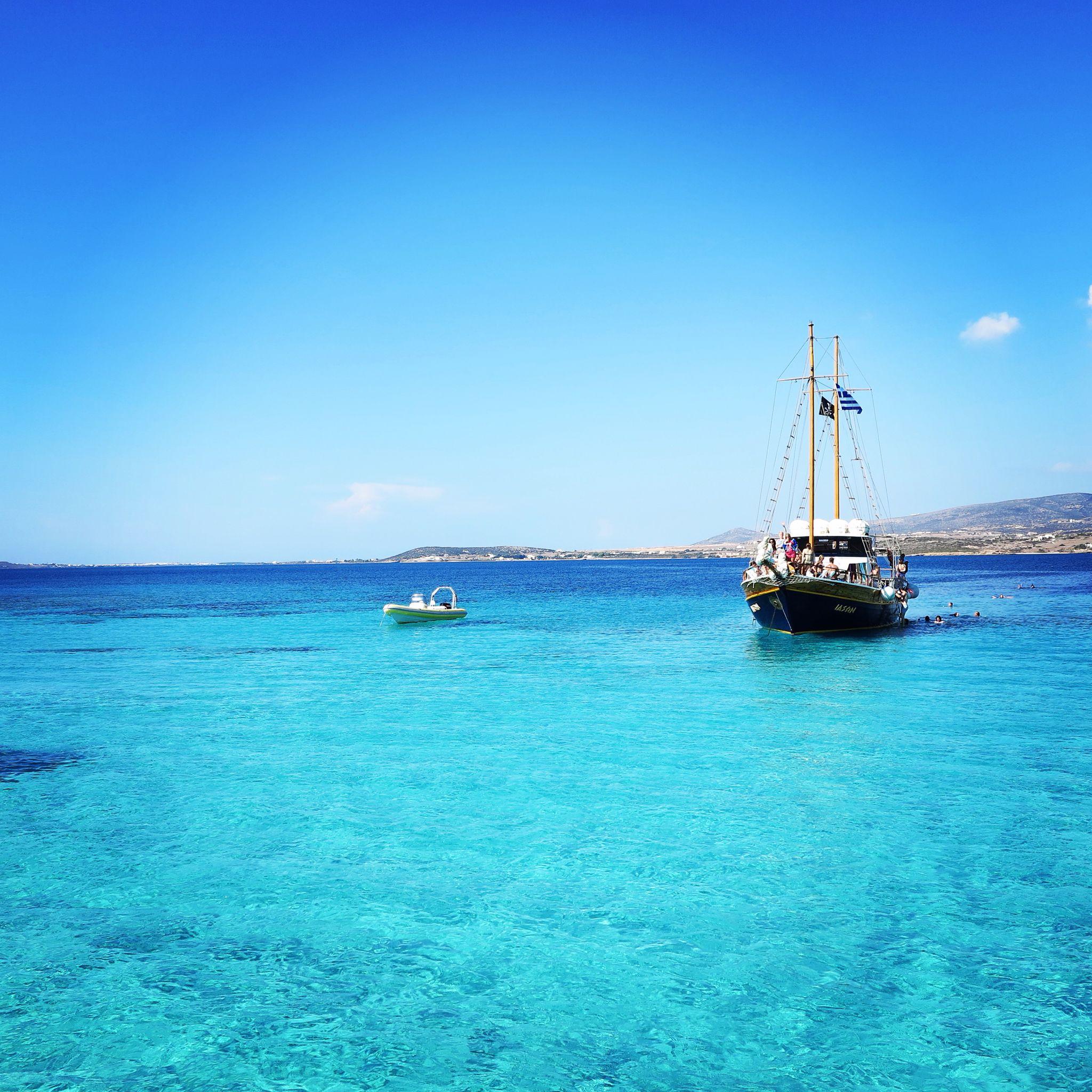 Paros Beaches: The Blue Lagoon: Paros, Greece