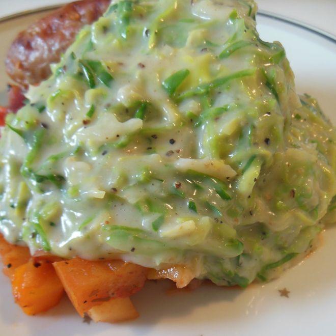 Opskrift på lækker stuvet spidskål, med kun 53 kalorier pr. 100g   Aftensmad, frokost og ...