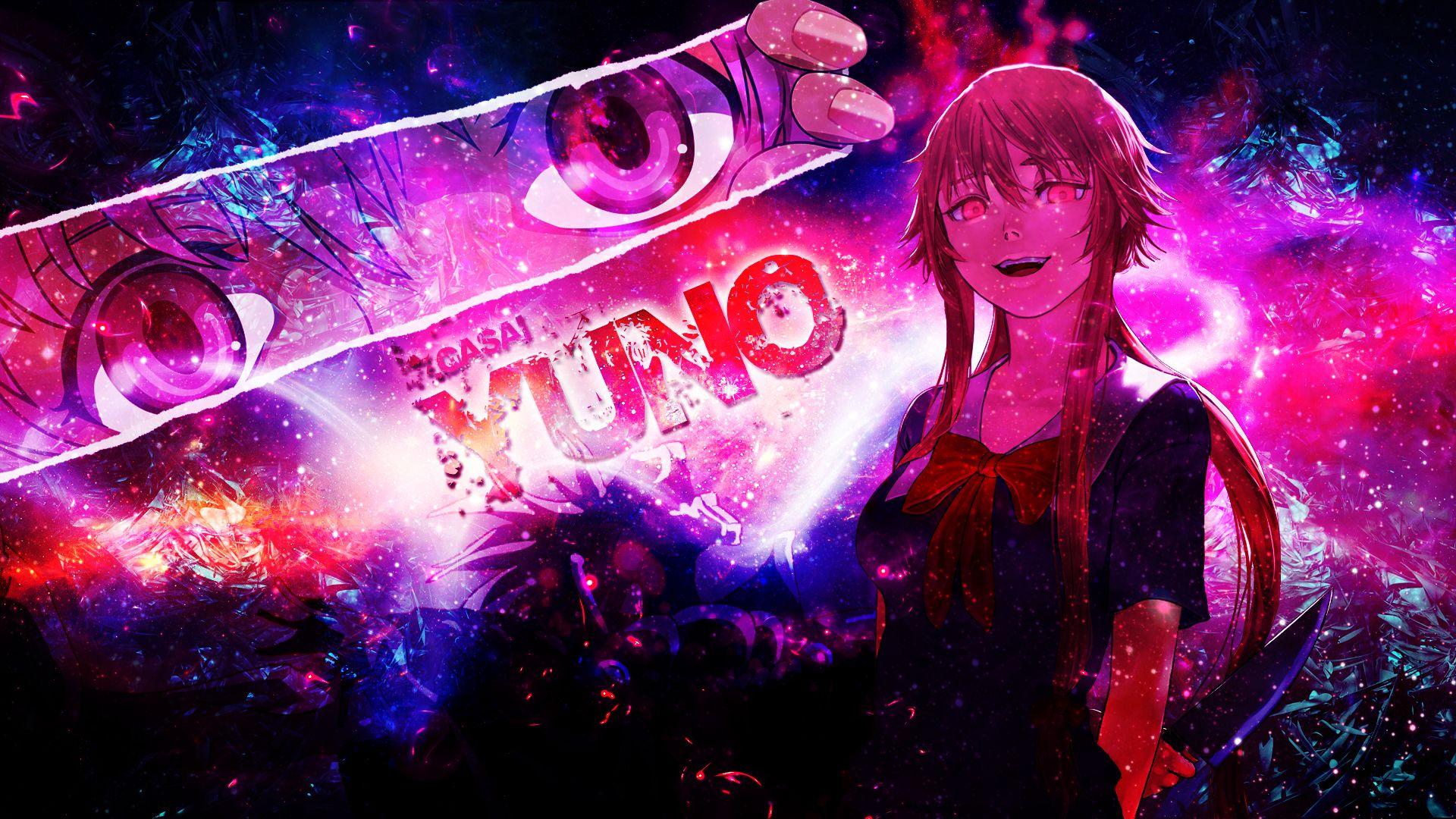 Anime Mirai Nikki Yuno Gasai Wallpaper Mirai Nikki Yuno