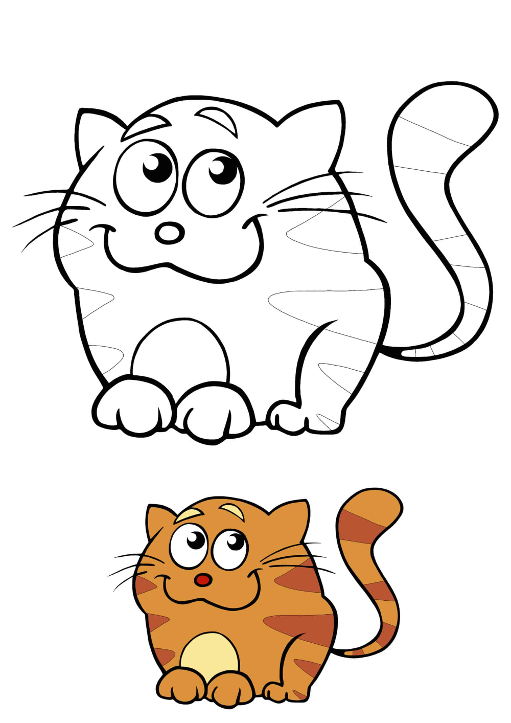 Cartoon Cat Coloring Pages 2 Free Coloring Sheets 2020 Cat Coloring Page Cartoon Cat Coloring Pages