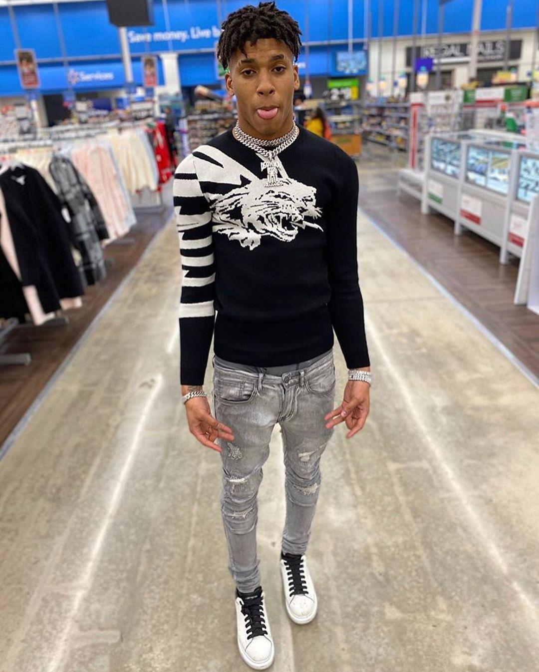 Pin by N U on Nle choppa in 2020 Men fashion casual