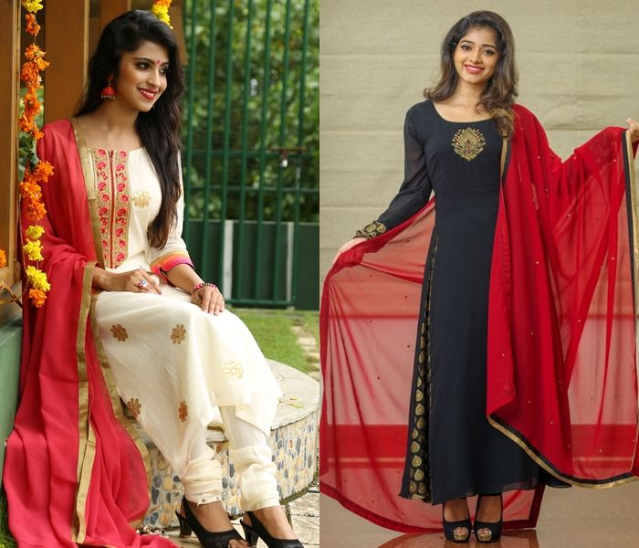 e14f85e76c Looking for latest churidhar / salwar kameez color combinations? Here are  21 beautiful choices for you to pick and look dashing this season.