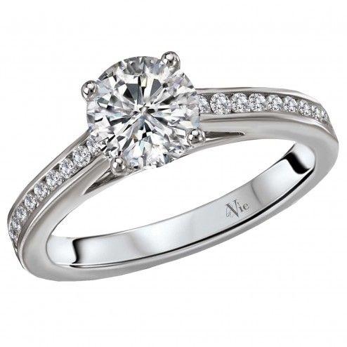 Classic Diamond Ring 1306 Style 115307100 Channel Set Diamond