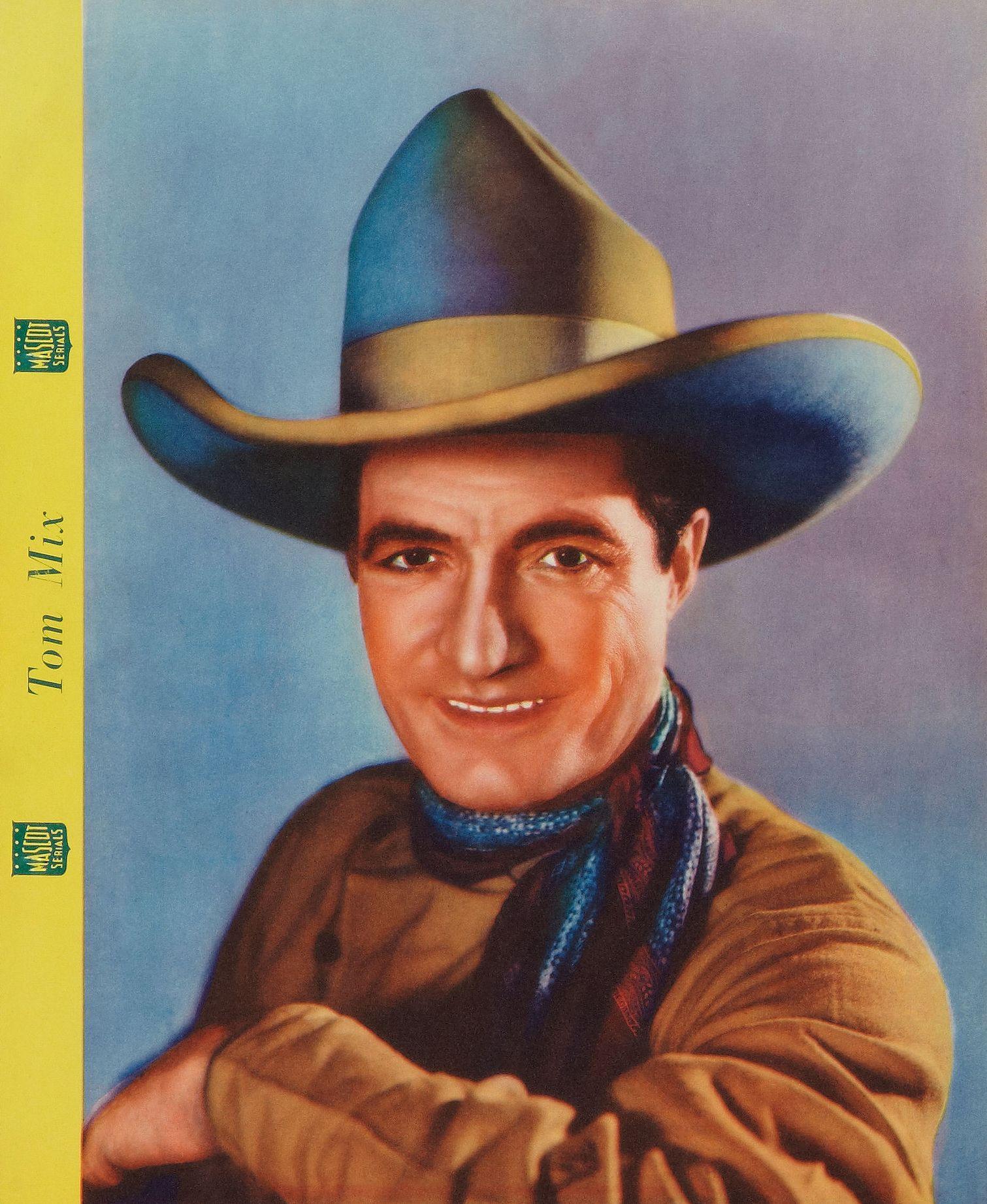 d0b103e60 Tom Mix Dixie Cup   Tom Mix   Cowboy hats, Western film, Cowboys
