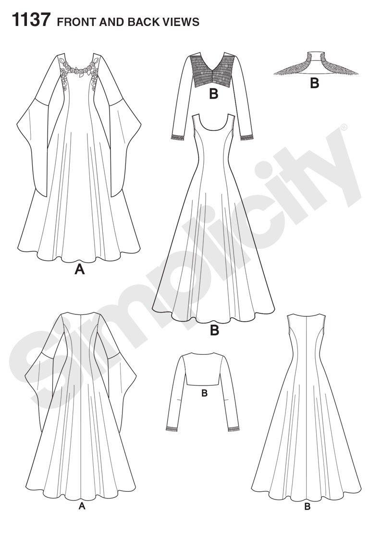 1137 - Costumes - Simplicity Patterns | Sewing stuff | Pinterest ...
