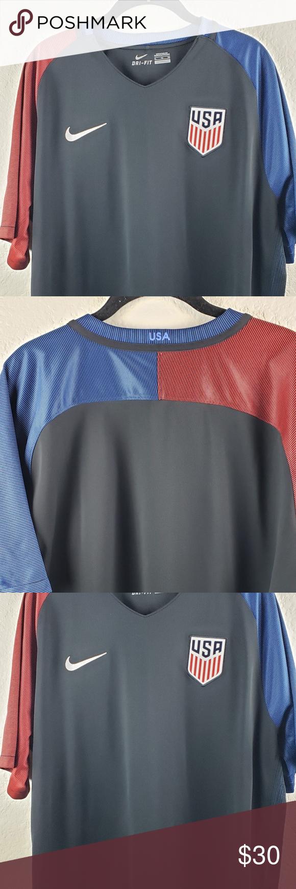 b62752a8 ... Shirt Good condition. Nike Shirts Tees - Short Sleeve · Nike Men's | DRI -FIT XL Nike DRI-FIT 2016 Team USA Authentic Soccer