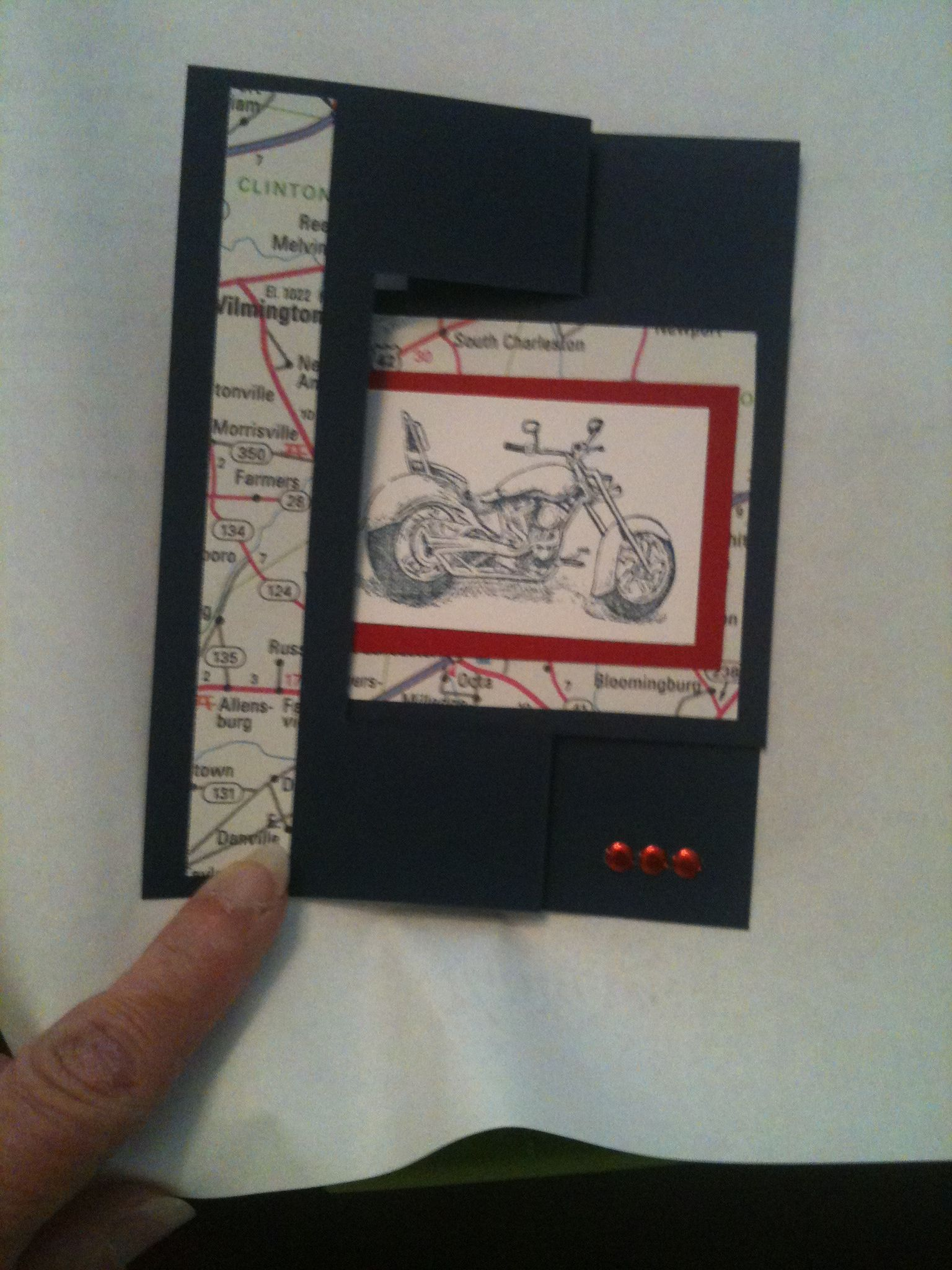 Masculine Card W Stampin Up Stamps