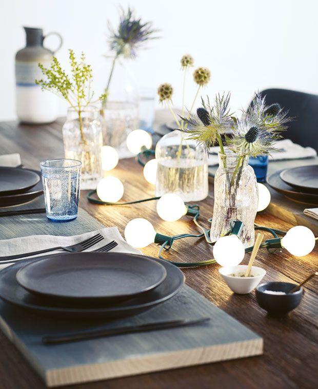 photos 15 id es d co pour dresser la table de no l. Black Bedroom Furniture Sets. Home Design Ideas